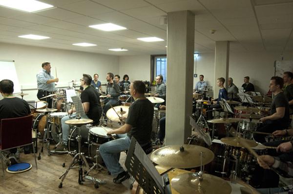 Schlagzeug-Workshop mit Norbert Rabanser
