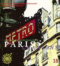 New Compositions for Concertband 18 - Paris Chansons