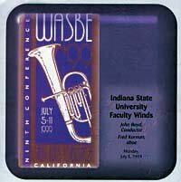 Indiana State University Faculty Winds