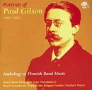 Portrait of Paul Gilson ? Anthology of Flemish Band Music