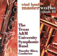 Wind Band Master Works Vol. III