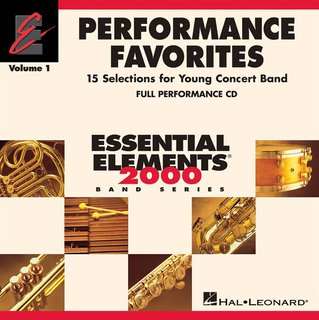Performance Favorites - Volume 1 - Full Performance CD