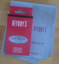 HEYDAYS - Instrument Care Cloth - Reinigungstuch für Musikinstrumente