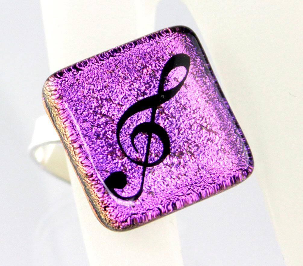 Ring Violinschlüssel / Notenschlüssel | Schmuck - für Frauen
