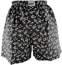 Boxershort Notenmotive