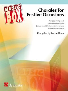 Chorales for Festive Occasions - Variables Bläserquartett