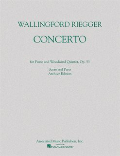 Concerto for Piano and Woodwind Quintet, Op. 53