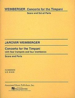 Concerto for the Timpani - For four trumpets, four trombones, tuba and timpani