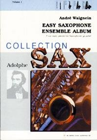 Easy Saxofone Ensemble Album Vol. 1 - Four easy pieces for Saxofone Quartet