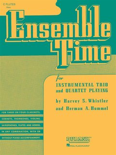 Ensemble Time - C Flutes (Oboe) - for Instrumental Trio or Quartet Playing