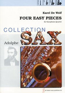 Four Easy Pieces - for Saxofone Quartet