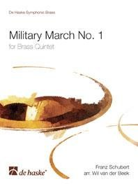 Military March No. 1 - for Brass Quintet