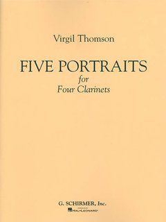 5 Portraits for 4 Clarinets