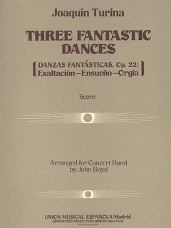 3 Fantastic Dances, Op. 22