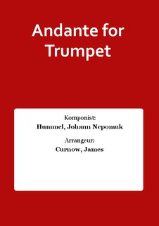 Andante for Trumpet