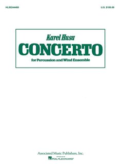 Concerto for Percussion and Wind Ensemble