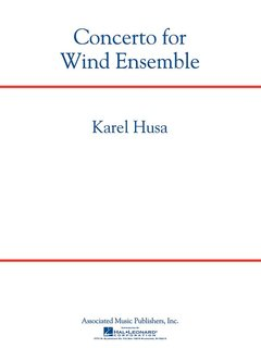 Concerto For Wind Ensemble  Score (revised 2007)