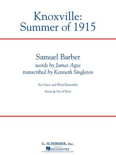 Knoxville: Summer of 1915