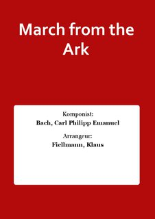 March from the Ark