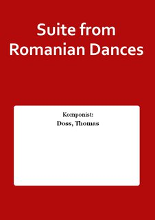 Suite from Romanian Dances