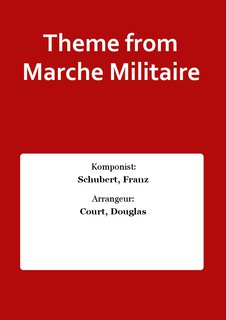 Theme from Marche Militaire