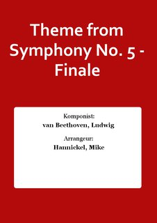 Theme from Symphony No. 5 - Finale