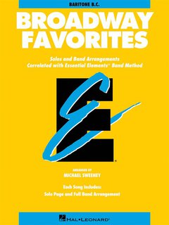 Broadway Favorites - Bariton - Euphonium (BC) - Bariton/Eufonium