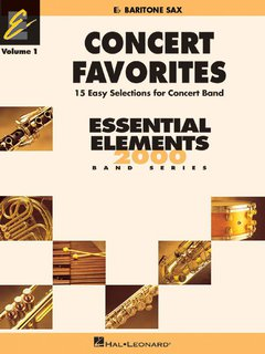 Concert Favorites Vol. 1 - Baritonsaxophon in Es - Baritonsaxofon in Es