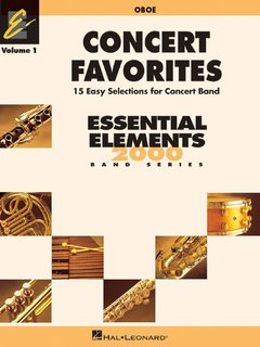 Concert Favorites Vol. 1 - Oboe - Oboe