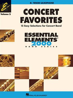 Concert Favorites Vol. 2 - Tenorsaxophon - Tenorsaxofon
