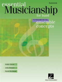 Ensemble Concepts for Band - Fundamental Level - Bassoon