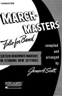 March Masters Folio for Band - Conductor - Conductor