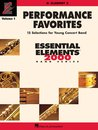 Performance Favorites - Volume 1 - Clarinet 2 - Clarinet 2