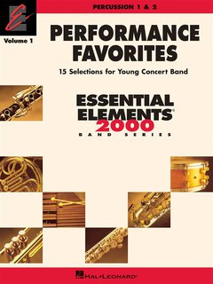 Performance Favorites - Volume 1 - Percussion 1 & 2 - Percussion 1 & 2