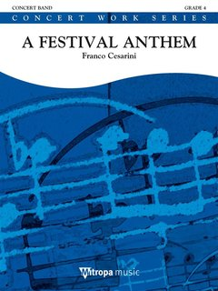 A Festival Anthem - Partitur