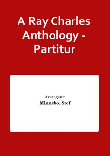 A Ray Charles Anthology - Partitur