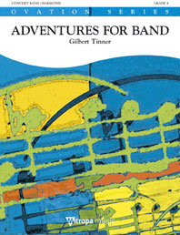 Adventures for Band - Set (Partitur + Stimmen)