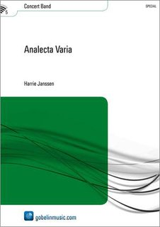 Analecta Varia - Partitur