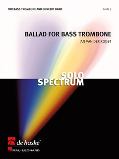 Ballad for Bass Trombone - Partitur