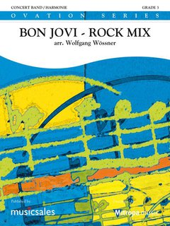 Bon Jovi - Rock Mix - Partitur