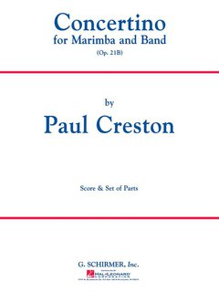 Concertino for Marimba and Band, Op. 21b - Set (Partitur + Stimmen)