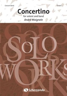 Concertino for Soloist and Concert Band - Set (Partitur + Stimmen)