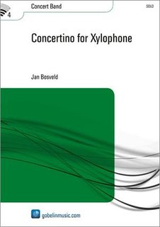 Concertino for Xylophone - Partitur