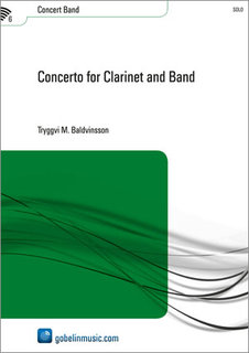 Concerto for Clarinet and Band - Set (Partitur + Stimmen)
