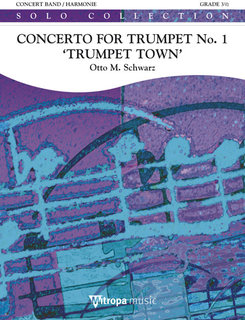 Concerto for Trumpet No. 1 Trumpet Town - Set (Partitur + Stimmen)