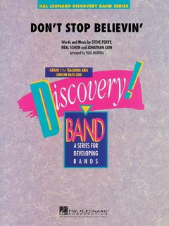 Dont Stop Believin - Set (Partitur + Stimmen)