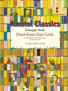 Duet from Don Carlo - Partitur