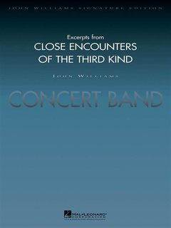 Excerpts from Close Encounters of the Third Kind - Partitur