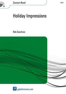 Holiday Impressions - Set (Partitur + Stimmen)