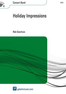 Holiday Impressions - Partitur